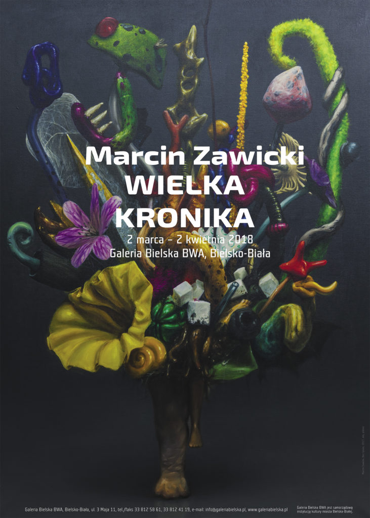 plakat Marcin Zawicki 2000 piks