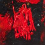 """Brzozowski (Tadeusz Brzozowski, """"Stróż"""", 1956), , oil on canvas, 30 x 30 cm, 2017"""
