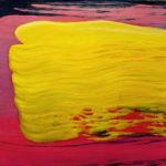"""Cieceirski (Tomasz Ciecierski, """"Bez tytułu"""", 2003-2004), , oil on canvas, 30 x 30 cm, 2017"""
