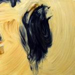"""Dwurnik (Edward Dwurnik, """"Budź się Polsko! z cyklu """"Robotnicy"""", 1988), , oil on canvas, 30 x 30 cm, 2017"""
