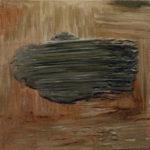 """Louvrier (Maurice Louvrier, """"Rouen we mgle"""", 1940), , oil on canvas, 30 x 30 cm, 2017"""