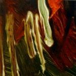 "Vlamnick, (Maurice de Vlamnick, ""VVidok Miasteczka, 1910-1911), , oil on canvas, 30 x 30 cm, 2017"