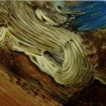 """Vuillard, (Edouard Vuillard, """"Ogród w Amfreville"""", 1905-1907), , oil on canvas, 30 x 30 cm, 2017"""